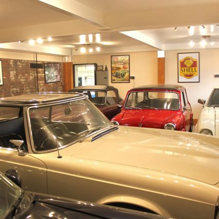 About Us - Classic Car Solutions - Sales & Servicing based in Luton
